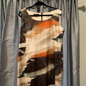 Sheath multi-colored Dress